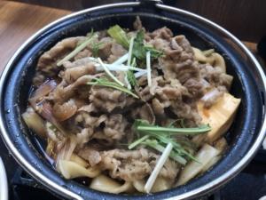 牛すき鍋膳(吉野家)